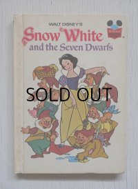 洋書 WALT DISNET'S Snow White and the Seven Dwarfs (白雪姫と7人のこびと) 1973 Random House