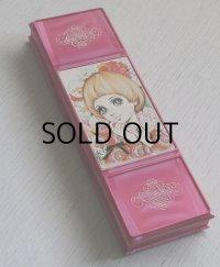 SAN-STARサンスター 筆箱/ペンケース 少女イラスト(谷ゆきこ画)/color:ピンク