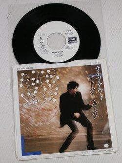 """画像1: EP/7""""/Vinyl  見本盤   ライツ・アウト  プアー・ガールズ・ハート  ピーター・ウルフ   (1984)  EMI"""