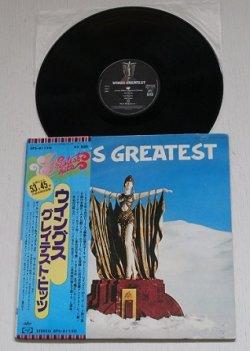 """画像1: LP/12""""/Vinyl   WINGS GREATEST  ウイングス グレーテスト・ヒッツ  ポール・マッカートニー&ウイングス  (1978)  帯/オリジナルスリーヴ付"""