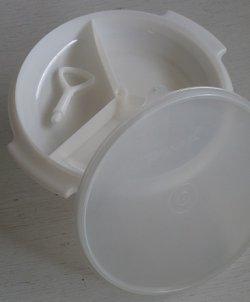 画像1: タッパーウェア  スゼット  ホワイト