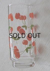 HOYA GLASS さくらんぼ/チェリー ロンググラス L: Ø5.5×13.7×Ø5(cm)