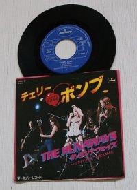 EP/7inch/Vinyl/シングル CHERRY BOMB チェリーボンブ/ BLACK MAIL ブラックメイル THE RUNAWAYS ザ・ランナウェイズ (1976) マーキュリーレコード