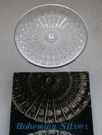 """サンホーム """"ボヘミヤン・シルバー"""" プラスチック製プレート size: Ø31.4cm"""