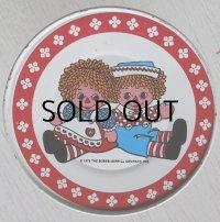 THE BOBBSーMERRILL COMPANY, INC. Raggedy Ann & Andy ラガディ・アン&アンディ Tin Dish ティンプレート size:Ø10.5cm
