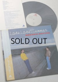 "LP/12""/Vinyl  ""Late Late Summer ""  BREAD&BUTTER ブレッド&バター (1979/1980) 帯/歌詞カード ALFA RECORDS"