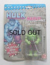 "MARVEL SUPER HEROES ""THE INCREDIBLE HULK"" WITH CRUSHING ARM ACTION マーベル スーパーヒーロー ""超人ハルク"" アクションフィギュア"