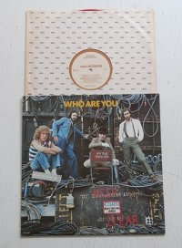 "LP/12""/Vinyl   WHO ARE YOU  THE WHO  (1978 )  PRINTED IN CANADA  スリーブ/カラーレコード(RED) MCA RECORDS"