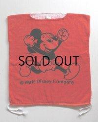 "Walt Disny Company  MICKEY FAMILY ""ミッキーマウス""タオル地キッズビーチウェア size: 身長105cm〜130cm"