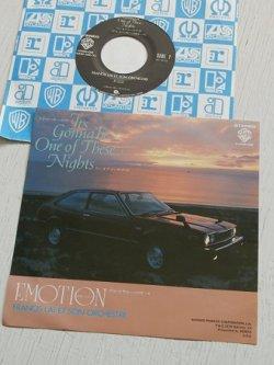 """画像1: EP/7""""/Vinyl/Single  『アコードハッチバックのテーマ It's Gonna be One of These Night (ワン・オブ・ジーズ・ナイト)/ アコードサルーンのテーマ EMOTION(エモーション) 』  (1979) FRANCIS LAI ET SON ORCHESTRE(フランシス・レイ・オーケストラ) 非売品"""