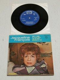 """EP/7""""/Vinyl  HI-FI STEREO 33 1/2 r.p.m.   [シャンソン・ベスト4 ]   第3集  1. 愛の讃歌 2. 枯葉   3.詩人の魂 4. パリのお嬢さん  ジャクリーヌ・フランソワ  PHILIPS"""