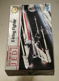 mpc ERTL  -STAR WARS-   RETURN OF THE JEDI  スター・ウォーズ ジェダイの復讐  Xウイング ファイター  プラモデル