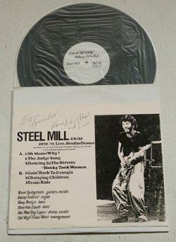 """画像1: LP/12""""/Vinyl 見本盤 """" Steel Mill Child (1970〜1971 Live, Studio Demos"""" RECORDED AT THE CLUB """"THE SCENE""""IN ASBURY PARK, N.J. ON 1/18/1971&BILL GRAHAMS FILMORE WEST ON 1970.  ブルース・スプリングスティーン/ スティール・ミル スタジオデモ"""