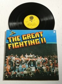 "LP/12""/Vinyl  "" THE GREAT FIGHTING II必殺のプロレス・テーマ集  "" (1978)  OVERSEAS RECORDS"