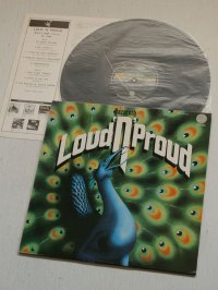 "LP/12""/Vinyl   LOUD'N'PROUD(威光そして栄誉) NAZARETH (ナザレス)  (1974)  ライナーノーツ(大貫憲章)/歌詞カード付  VERTIGO"