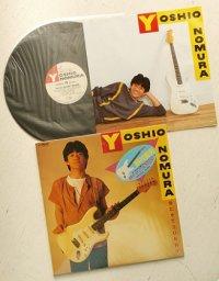 """LP/12""""/Vinyl  待たせてSORRY   野村義男  (1983)  Victor  シール帯/歌詞カード&ポスター/ブックマーク2枚"""