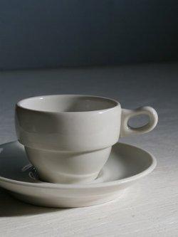 画像1: DELAUNAY MADE IN FRANCE ESPRESSO CUPS エスプレッソ カップ&ソーサ