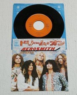 """画像1: EP/7""""/Vinyl  ドリーム・オン  ママ・キン   (1973 )  エアロスミス  CBS/SONY"""