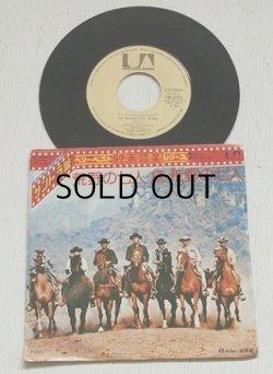 """画像1: EP/7""""/Vinyl/Single  サントラ盤 ベリー・ベスト映画音楽シリーズ""""THE MAGNIFICENT SEVEN 荒野の七人/ON THE MOVE 続・荒野の七人"""" Composed &Conducted by ELMER BERSTEIN エルマー・バーンスティン (1974) UNITED ARTISTS RECORDS"""