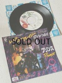 """EP/7""""/Vinyl/Single  """"LET'S GO CRAZY レッツ・ゴー・クレイジー/EROTIC CITY エロティック・シティ(※アルバム未収録曲) """" PRINCE AND THE REVOLUTION プリンス・アンド・ザ・レヴォリューション (1984) WARNER BROS RECORDS"""