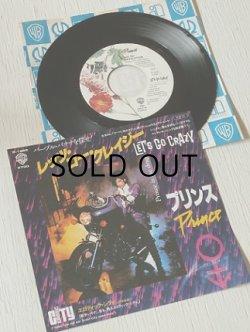 """画像1: EP/7""""/Vinyl/Single  """"LET'S GO CRAZY レッツ・ゴー・クレイジー/EROTIC CITY エロティック・シティ(※アルバム未収録曲) """" PRINCE AND THE REVOLUTION プリンス・アンド・ザ・レヴォリューション (1984) WARNER BROS RECORDS"""