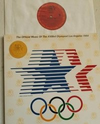 "LP/12""/Vinyl  The GUBER PETERS Comupany Presents  ""The Official Music Of The XXXXIIIrd Olympiad Los Angeles 1984 ""   (1984)  COLUMBIA"