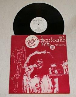 """画像1: LP/12""""/Vinyl  """" columbia down town disco sounds 1976 (コロムビア・ダウン・タウン ディスコ・サウンズ'76) """" 見本盤  Not For Sale D.J=VETO""""MEATBALL""""GALATI Jr. リズム・ヘリテッジ、ルーファス・フィーチュアリング・チャカ・カーン、アイザック・ヘイズ・ムーブメントetc  (1976) COLUMBIA"""