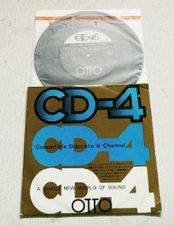 """画像1: EP/7""""/Vinyl  OTTO専用  Compatible Discrete 4- Channel  CD-4テスト・レコード  三洋電機株式会社"""