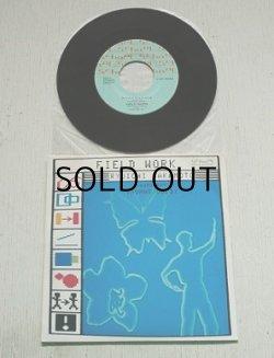 """画像1: EP/7""""/Vinyl/Single  """"FILD WORK"""" RYUICNI SAKAMOTO featurring THOMAS DOLBY  坂本龍一 トーマス・ドルビー 立花ハジメ (1985) school"""