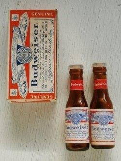 画像1: Budweiser  バドワイザー  ソルト&ペッパーシェイカー  ボトル型