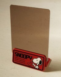 "SANRIO  フォトスタンド  ""SNOOPY""  PEANUTS Characters:  ©1958. 1965 United Feature Syndicate. Inc."