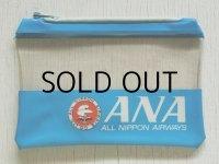 ANA ALL NIPPON AIRWAYS 全日空 ビニールポーチ size: 10.3×15(cm)