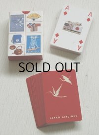 "JAPAN AIRLINE PLAYING CARDS ""The JAL's History A Collection of JAL Designs""  日本航空プレイングカード 「JALの歴史」デザインコレクション"