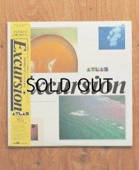 "LP/12""/Vinyl   見本盤   ""Excursion""  ATLAS [川村栄二・難波弘之・今泉敏郎]  (1986)  帯/イメージ・ストーリー&フォト付"
