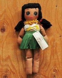 """Lanakila Crafts Hawaiian Rag Doll  """"KELA"""" ハワイアンラグドール"""