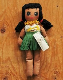 """画像1: Lanakila Crafts  Hawaiian Rag Doll   """"KELA""""  ハワイアンラグドール"""