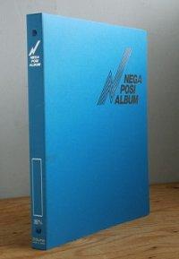チクマ  FILING SYSTEM ALBUM   アナログカメラ35mm用ネガポジアルバムE  カバー:ブルー