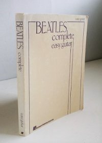 BEATLES complete easy guitar  ギター用ソングブック ビートルズ全集  洋書(英語) ISBN-10:0881885959
