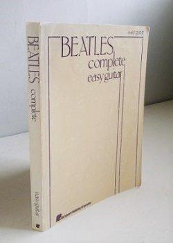 画像1: 洋書  BEATLES  complete easy guitar  ギター用ソングブック  ビートルズ全集   ISBN-10:0881885959