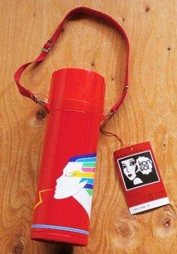 画像1: ダイヤ魔法瓶  ダイヤポータブルボトル  kansai  スーパーレディー(レッド) B-751K  0.75L