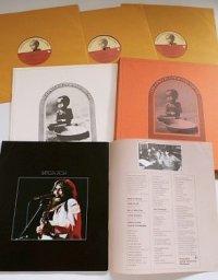 """LP/12""""/Vinyl   3枚組 BOX SET  """"The Concert for Bangla Desh バングラデシュ難民救済コンサート """"  ジョージ・ハリスン、エリック・クラプトン 、ボブ・ディラン、リンゴ・スター etc  P: フィル・スペクター、ジョージ・ハリスン (1972)  apple  ブックレット/ライナー"""