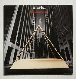 """画像1: LP/12""""/Vinyl U.S. 盤 """"Oops! Wrong Planet """"Utopia Todd Rundgren (1977) Bearsville/ RHINO"""