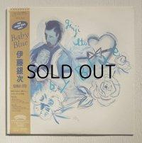 "LP/12""/Vinyl    Baby Blue    伊藤銀次   (1982)  Casaburanca Record and film worlds/ POLYSTAR  ブルーヴィニール仕様/帯/歌詞カード"