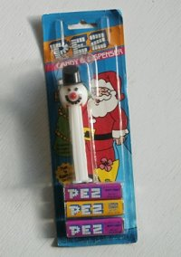 PEZ CANDY&DISPENSER  Frosty the Snowman  ペッツ ディスペンサー  スノーマン  MADE IN SLOVENIA