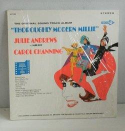 """画像1: LP/12""""/Vinyl U.S.盤 OST """"THOROUGHLY MODERN MILLIE (モダン・ミリー)"""" JULIE ANDREWS (ジュリー・アンドリュース) AS MILLIE CAROL CHANNING  アレンジ&指揮: ANDER PREVIN (1967) Decca シュリンク一部あり/P8フルカラーページ付"""