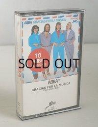 """Cassette/カセットテープ Sweden """"GRACIAS POR LA MUSICA Collecters Item"""" ABBA アバ (1980) SEPTIMA RECORDS"""