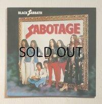 "LP/12""/Vinyl   来日記念盤  サボタージュ  ブラック・サバス  (1980)  nems  帯なし/ライナーノーツ&歌詞カードあり"
