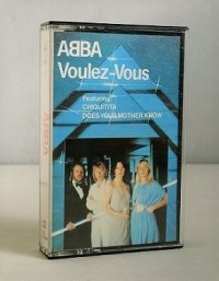 "Cassette/カセットテープ Sweden/ U.K. ""Voulez-Vous"" ABBA アバ (1979) Polar Music International AB"