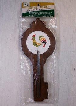 画像1: Westwood   壁掛けチーズカッティングボードセット  CHEESE BOARD CHEESE KNIFE  AND MAGNETIC HOLDER