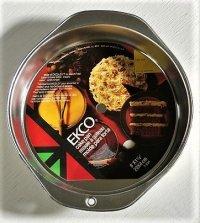 EKCO  CAKE PAN Φ20×D4(cm) T-95H  MADE IN U.S.A.  アルミ製 ケーキパン/ ケーキ型